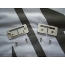 MGF MGTF Seat belt Escutcheons Satin Anodized Finish