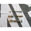 Upgraded Alternator Belt Tensioner Adjuster Bracket Bolt Kit 2