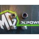 MGTF Top Front & Rear Damper Shock Stainless Nut Kit