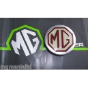 MGF MG F Alloy Wheel Centre Caps DTC100630MNH Brand New