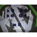 MGF  Front Polyurethane Complete Bush Kit Brand New