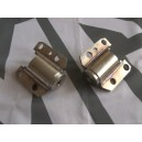 Stainless Front Subframe Mounts Pair