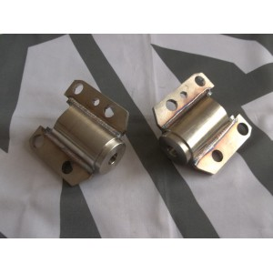 Stainless Front & Rear, Rear Subframe Mounts Pair