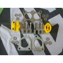 Exhaust Fitting Kit Poly & Stainless Steel New