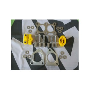 Exhaust Fitting Kit Poly & Stainles Steel New