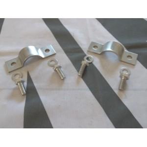 Stainless Front ARB Bush Saddles + Fitting Kit