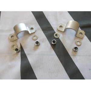 Stainless Rear ARB Saddle + Fitting Kit