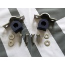 Stainless Steel Front ARB Saddles + Poly Bush's + Fitting Kit