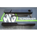 MGF Seat Belt Tidies Pair Made From Billet Satin Black Anodised Finish