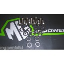 MGF MGTF Stainless Engine Cover / Hoodwell Lid Screw Kit