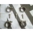 MGF MGTF Stainless Underfloor Coolant Pipe Fixing Kit
