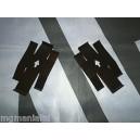 MGTF MG F Trophy 160 AP Racing Brake Caliper Anti Rattle Plates Pair