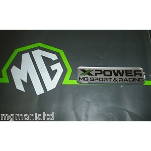 XPower MG Sport & Racing Badge