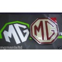 MGZR Mk1 Rear Tailgate Hatch MG Badge Genuine MGRover