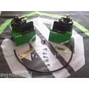 MGZR MG ZR Lucas Twin Dual Tone Air Horn Kit 12V