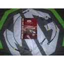 MGZR  Fully Stainless Steel Braided Brake Line Hose Kit