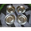 """MGZR MGZS Steel Centre Caps For 17"""" Alloy Straights MG Silver Carbon"""