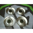 """MGZS MG ZS Steel Centre Caps For 17"""" Alloy Straights MG Pearlesant Green New"""