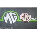 MGZT Rear Badge Inserts MG Logo