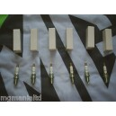 Roverr 800 V6 Platinum Spark Plugs 6 off MGRover New NLP100290
