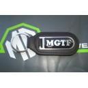 MGTF Logo Genuine Leather Keyfob Keyring