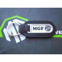 MGF Logo Genuine Leather Keyfob Keyring