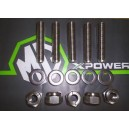 Stainless Exhaust Studs & Nut Kit